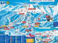 Mapa lyžařské oblasti Jasná - Chopok, zdroj: chopok.cz