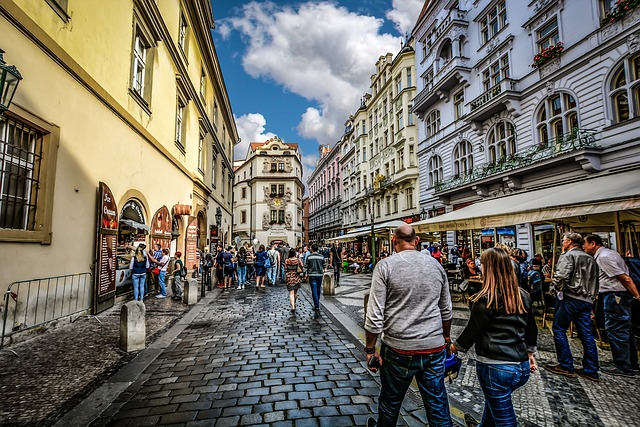 ubytování v centru Prahy