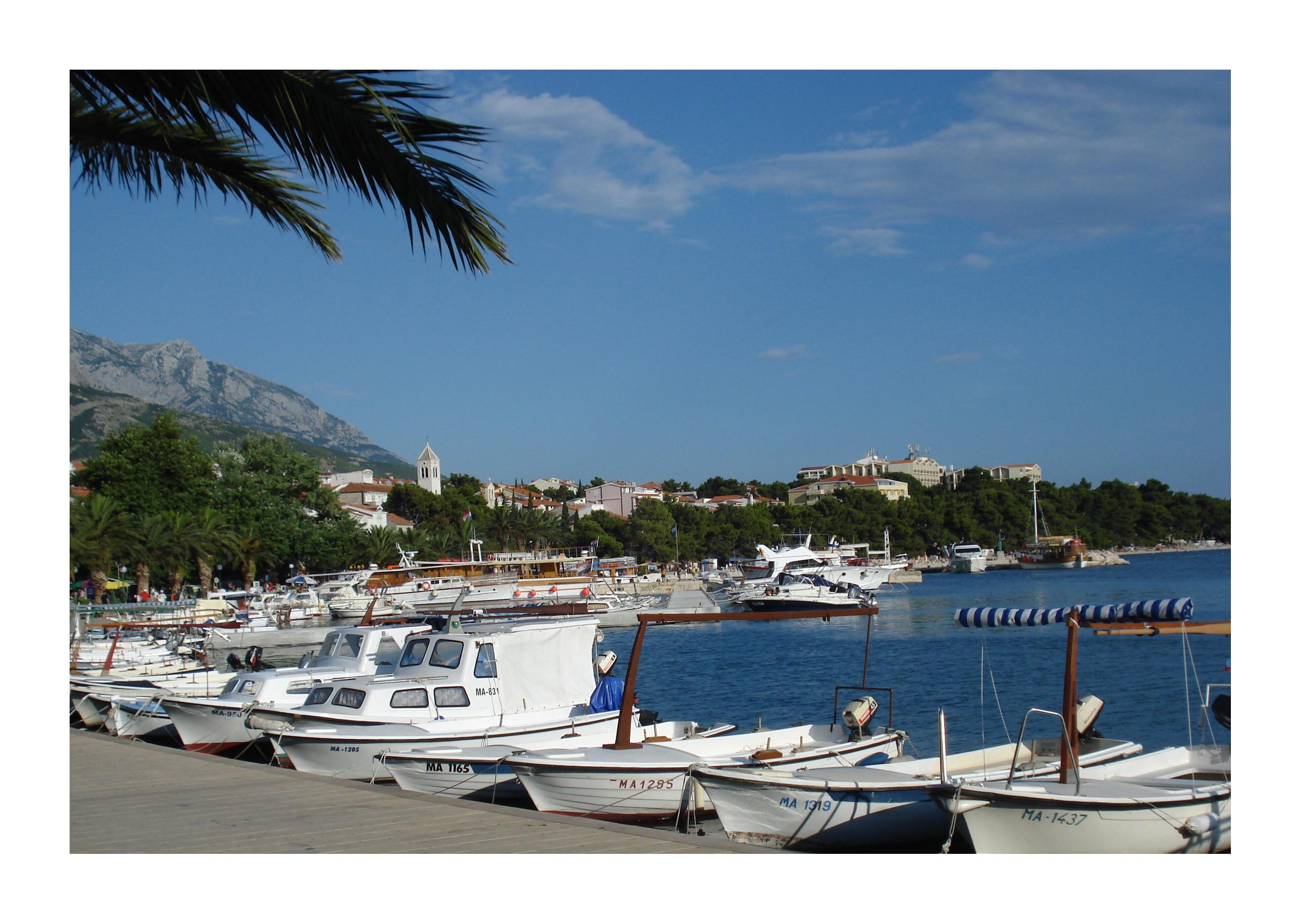 Chorvatsko dovolená u moře