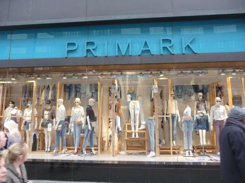 Primark - oblíbený řetězec s oblečením, zdroj: wikipedia.org
