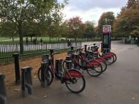 Městská kola v Hyde parku, zdroj: redakce