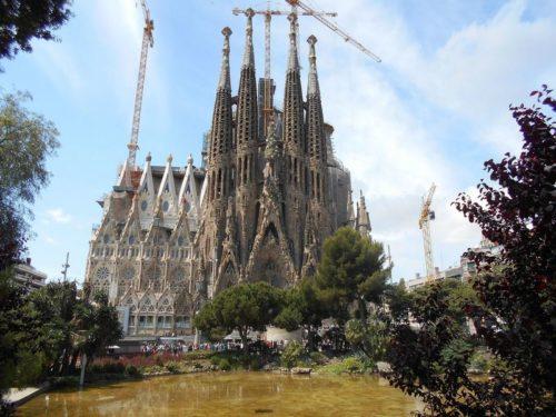 Sagrada Familia - nejznámější barcelonská památka, zdroj: wikipedia.org
