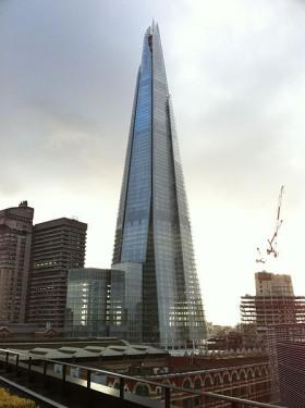 """Shard """"Střep"""" Londýn, zdroj: wikipedia.org"""
