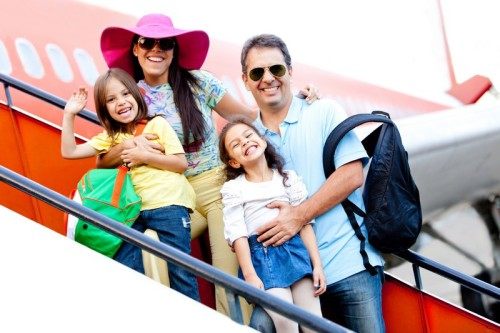 Vycestujte studovat s celou rodinou angličtinu do zahraničí, zdroj: shutterstock.com